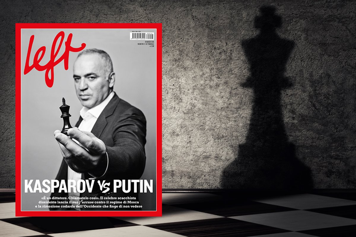 left kasparov vs putin